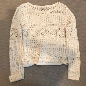Alice + Olivia cropped sweater sz L